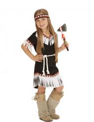Disfraz de india chic niña