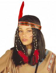 Peluca india cheyenne mujer