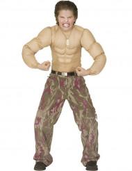 Cuerpo musculoso niño