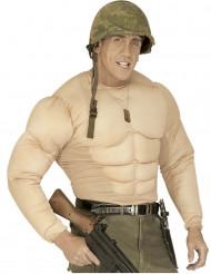 Cuerpo musculoso falso adulto
