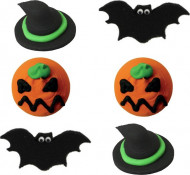 6 mini golosinas azúcar Halloween