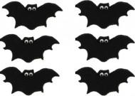 6 mini golosinas azúcar murciélago Halloween