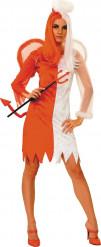 Disfraz ángel demonio mujer Halloween
