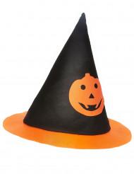 Sombrero Halloween bruja calabaza niño