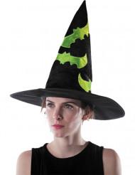 Sombrero de bruja reflectante adulto Halloween