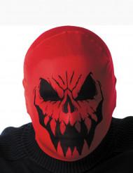 Pasamontañas monstruo rojo adulto Halloween