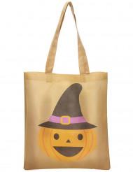Bolsa para caramelos calabaza 43 cm Halloween