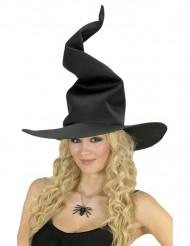 Sombrero bruja negro mujer Halloween