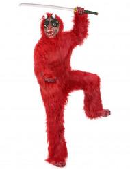 Disfraz diablo rojo adulto Deluxe Halloween
