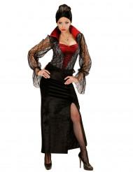 Disfraz vampiro encaje mujer Halloween