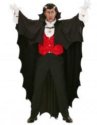 Capa vampiro negro 150 cm Halloween