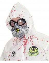 Máscara de gas tóxico adulto Halloween
