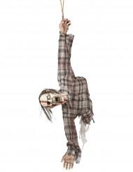 Decoración torso de zombie 92 cm Halloween