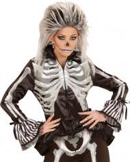 Camisa esqueleto mujer Halloween