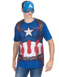 Camiseta máscara Capitán América™ movie 2
