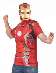 Camiseta y máscara Iron Man™ 2