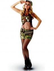 Disfraz clásico militar sexy adulto