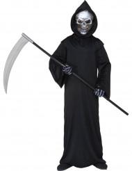 Disfraz Halloween segador siniestro niño