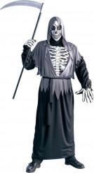Disfraz Halloween esqueleto segador adulto