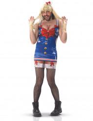 Disfraz humorístico marinero sexy hombre