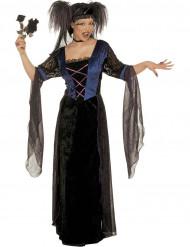 Disfraz Halloween princesa gótica mujer