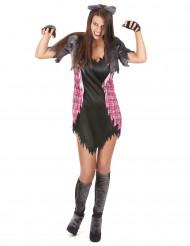 Disfraz Halloween hombre lobo sexy mujer
