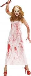 Disfraz asesina ensagrentada mujer Halloween
