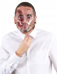 Máscara heridas sangrientas adulto