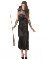 Disfraz cuello telaraña mujer Halloween