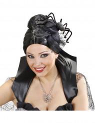 Cofia araña mujer Halloween