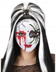 Máscara araña sangre adulto Halloween