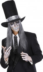 Corbata telaraña 45 cm adulto Halloween