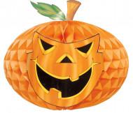 Decoración calabaza de papel Halloween 52 cm