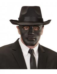 Máscara anónimo negra adulto