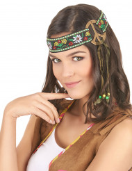 Diadema hippie paz adulto