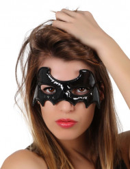 Antifaz murciélago negro