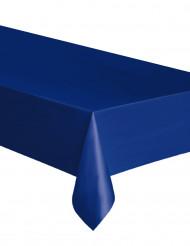 Mantel de plástico azul marino 137 x 274cm