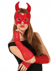 Kit diablo rojo
