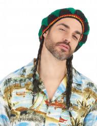 Peluca estrella reggae hombre
