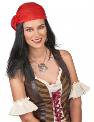 Peluca pirata bandana hombre