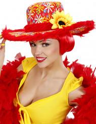 Sombrero hippie girasol mujer