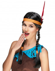 Peluca india pluma mujer
