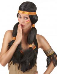 Peluca india mujer