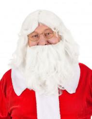 Peluca y barba Papá Noel 203 g
