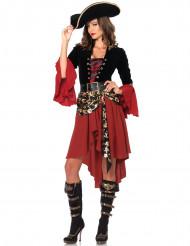 Disfraz de pirata bucanera mujer