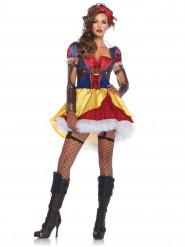 Disfraz princesa de cuento rebelde mujer
