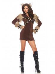 Disfraz vikingo mujer