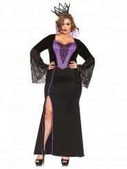 Disfraz bruja mujer talla grande