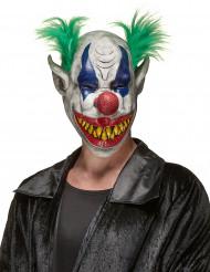 Máscara látex payaso horrible adulto Halloween