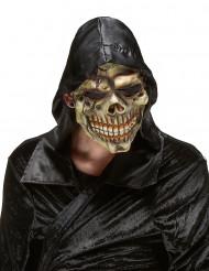 Máscara látex calavera tinieblas adulto Halloween